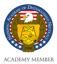 NADN Academy Member badge - National Academy of Distinguised Neutrals - Amy Lieberman - Mediation - Employment Mediation - Dispute Resolution